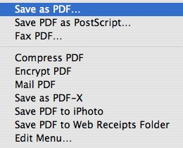 why the pdf document saved as html